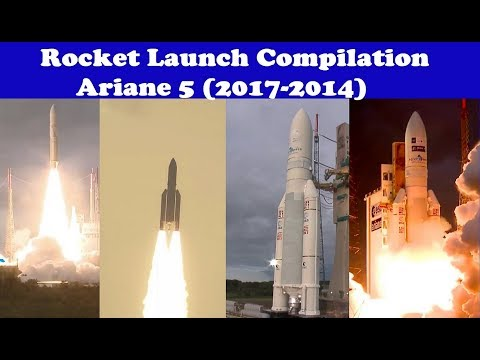 Rocket Launch Compilation (Ariane 5 Rockets) 🚀 | Go To Space