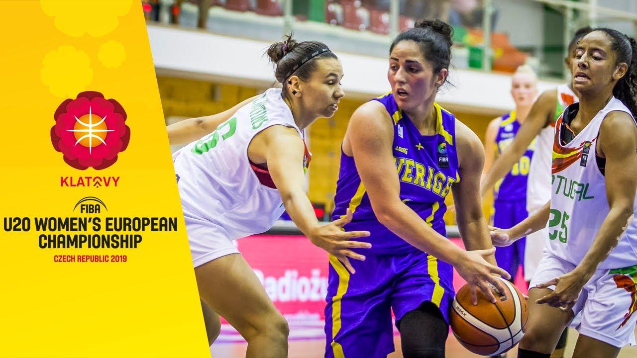 Portugal v Sweden - Full Game - FIBA U20 Women's European Championship 2019