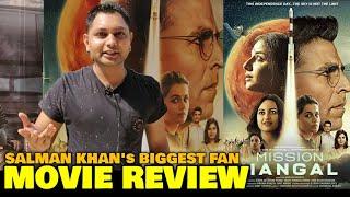 Mission Mangal MOVIE REVIEW by Salman Khan's Biggest Fan | Akshay Kumar