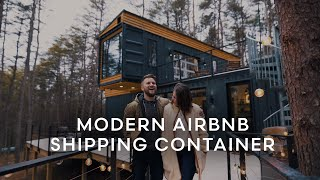 *modern* Airbnb Shipping Container Tour | The Og Box Hop By Seth & Emily Britt