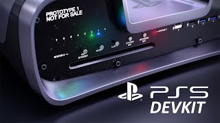 PS5 DevKit a closer look Animation