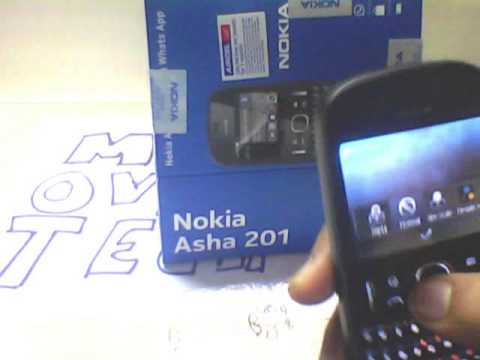 Nokia Asha 201 Unboxing and Hands-On review