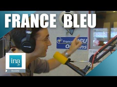 04 septembre 2000, les locales de Radio France deviennent France Bleu | Archive INA