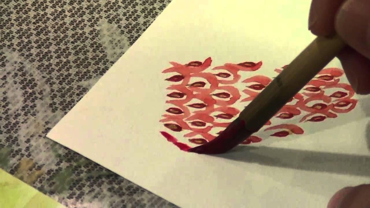 動画で絵手紙いちごの描き方 Youtube