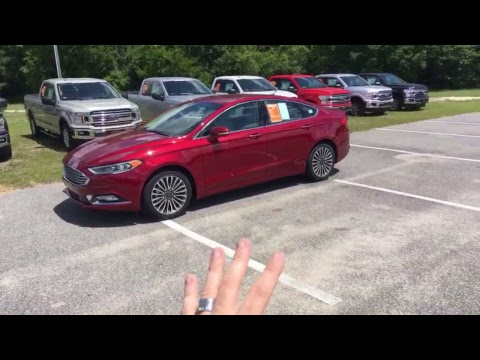 Live 2018 Ford Fusion Titanium w/2.0L Turbo Review / Walkaround Demo