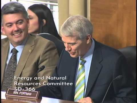 Portman Continues Push for Energy Efficiency at Energy and Natural Resources Committee Hearing