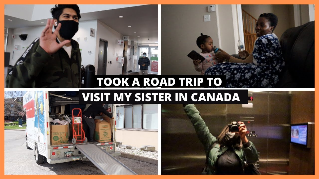 Download VISITING TOLULOPE SOLUTIONS IN CANADA | Helping Her Move| Making New Friends...