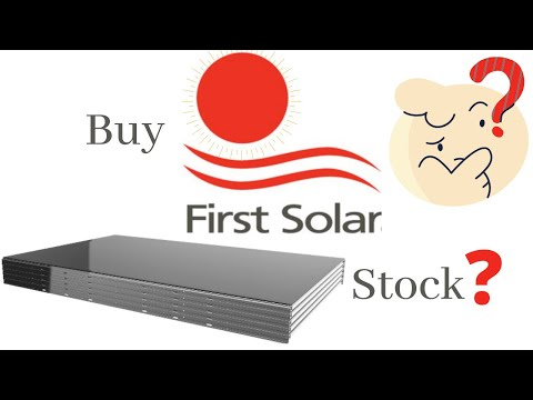 First Solar Stock Analysis: Why Solar Panel Differentiation Makes First Solar A Buy?  [FSLR Stock]