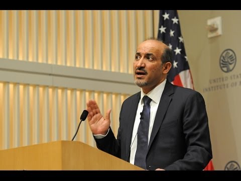 Syrian Opposition Coalition President Ahmad Jarba on Accusations of Terrorism
