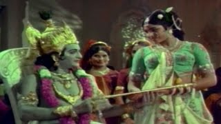 Sri Krishna Satya || Kasthuri Thilake Video Song || NTR, Jayalalitha