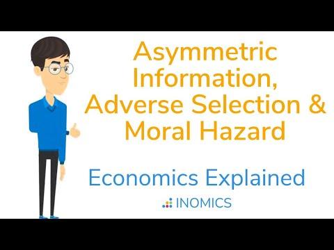 Asymmetric information : Adverse selection and moral hazardиз YouTube · Длительность: 17 мин44 с