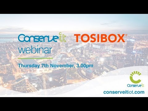 WATCH: Tosibox Presents: Conserve It CI-534 Integration & Security Lab