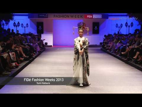 Yumi Katsura's Collection at FIDe Fashion Week 2013