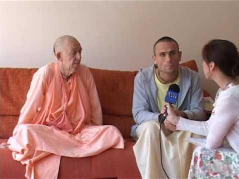 BVV Narasimha Swami (Interview for Artem TV, Vladivostok 2013) (Eng-Rus)