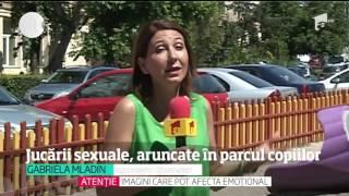 Jucării sexuale, aruncate în parcul copiilor. S-a întâmplat la Târgu-Jiu