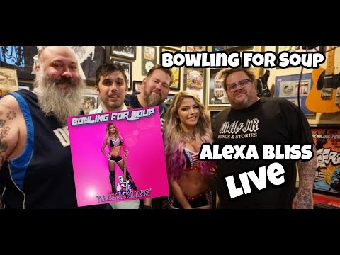 Alexa Bliss - Bowling For Soup - LIVE music 2020 UK