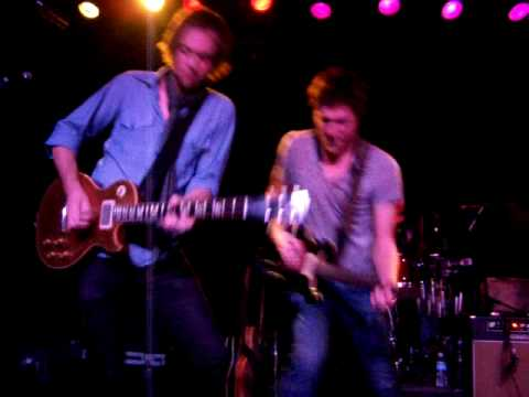 """Sam Thacker Band, """"Right Where We Want It"""" (12-16-2009 (07) @ Smith"""
