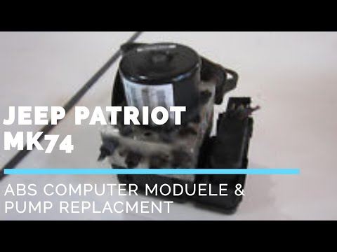 Jeep CompassMK /Jeep patriot MK74 ABS computer module and pump replacement removal how to