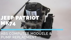 07-18 JK Jeep Wrangler ABS Module How To Replace  Code C121C