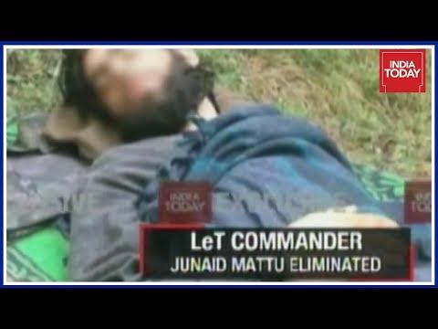 Lashkar Commander Junaid Mattoo Killed In Anantnag Encounter