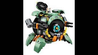 2019 Lego Overwatch #75976 Wrecking Ball review