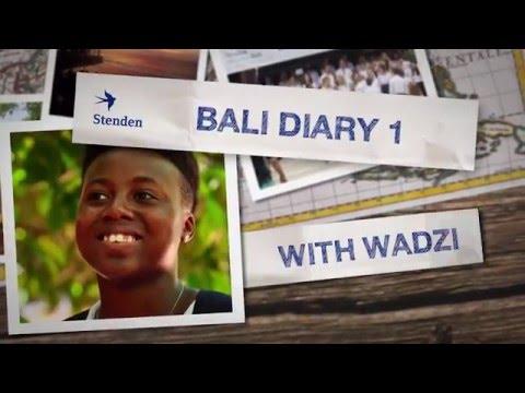 Bali Diary with Wadzi - Ep.1