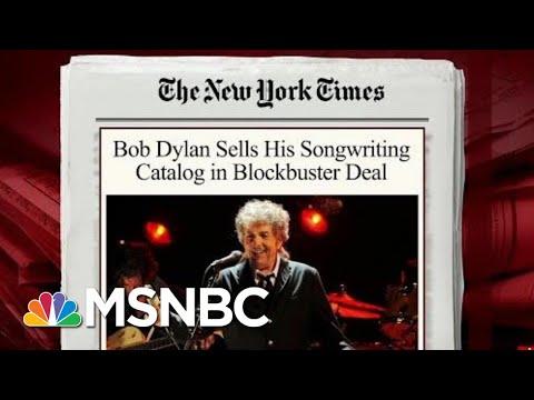 Bob Dylan Sells His Entire Song Catalog | Morning Joe | MSNBC