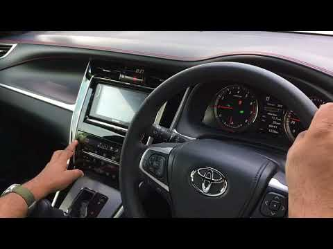Toyota Harrier Turbo Test Drive Review Video