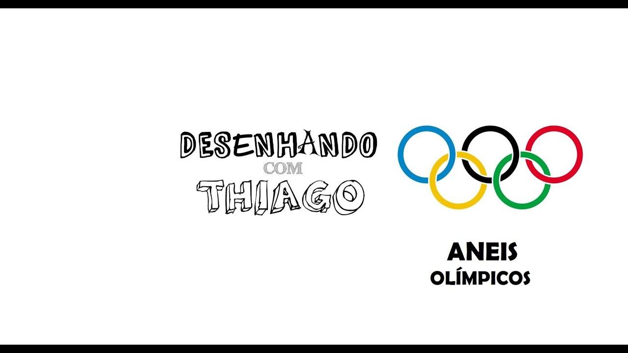 Desenhando Com Thiago Video 13 Aneis Olimpicos Youtube
