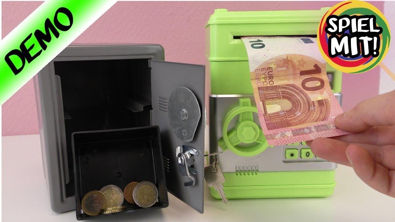Bester Trick Um Geld Sicher Zu Verstecken Geldautomat Für Zuhause Spartresor Mit Code Spardose