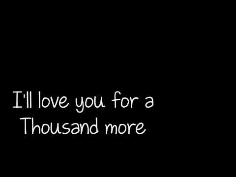 A Thousand years - Christina Perri Lyrics [HD 1080p]