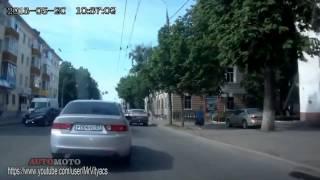 Смешные дорожные происшествия!