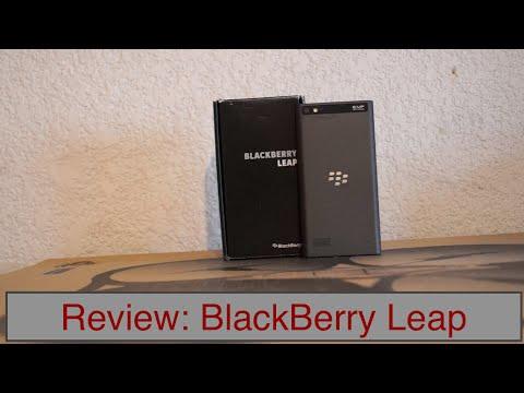 Review: BlackBerry Leap En Español