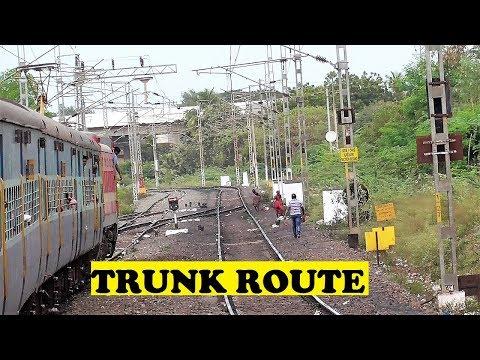 Kollam Visakhapatnam Express Joins Trunk Route | Gudur