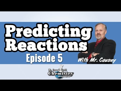 Predicting Products in Reactions - AP Chemistry Episode #5