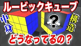 【物理エンジン】ルービックキューブの中身の構造を分かりやすく解説する