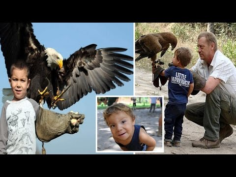 4 y.o boy who was raised with Hyenas and Eagles in Gambia wants to be Paleontologist