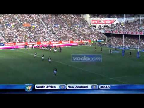 Rugby - SOUTH AFRICA versus NEW ZEALAND - TRI-NATIONS - SATURDAY AUGUST 16, 2008 - NEWLANDS STADIUM, CAPE TOWN