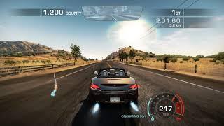 NFS: Hot Pursuit(2010): Event #7: Race: Carson Ridge Reservoir: Future Perfect