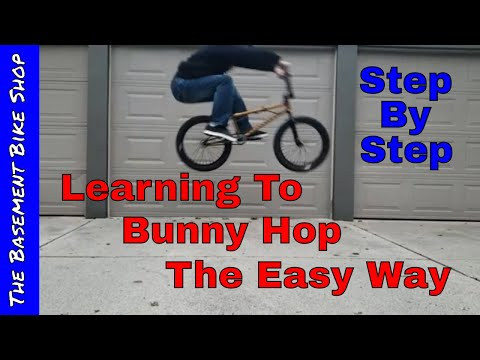 Learning How To Bunny Hop BMX Step By Step