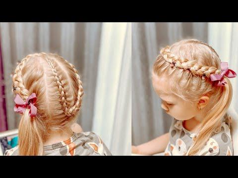 Прическа необычная корзинка Прически на длинные волосы