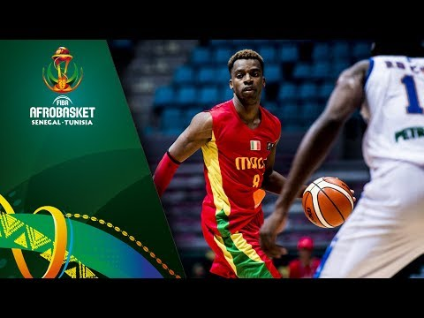DR Congo v Mali - Full Game - FIBA AfroBasket 2017