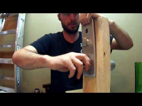 How To Install Kaba Simplex 1000 Lock