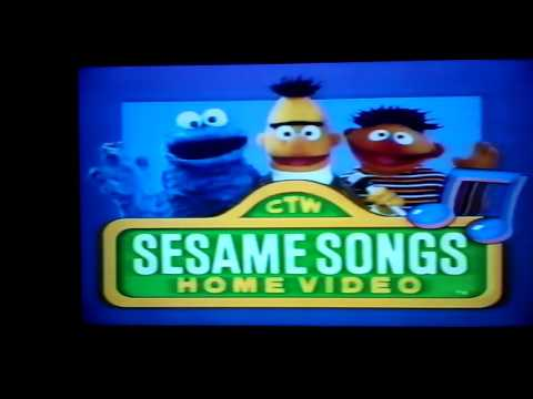 Opening To Sesame Street Sing Yourself Silly 1996 VHS (Sony Wonder Version)
