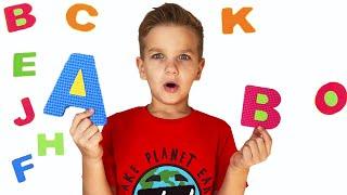 ABC Song - Английский алфавит для детей с Марком