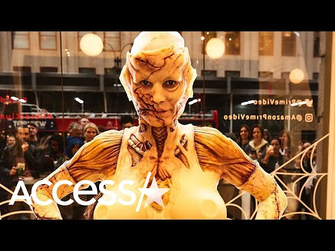 Heidi Klum Gets Into Prosthetics For Epic Halloween Transformation