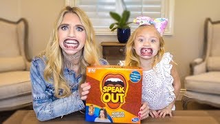 HILARIOUS SPEAK OUT GAME CHALLENGE VS. MY MOM!!!