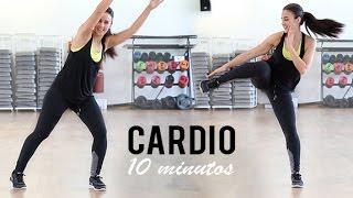 Rutina De Cardio Ideal Para Principiantes 10minutos Youtube