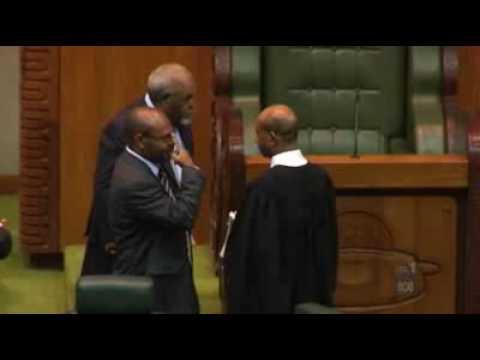 Death Threats In Papua New Guinea Parliament