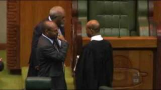 Death threats in Papua New Guinea parliament